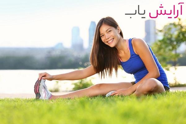 تاثیر ورزش بر زیبایی