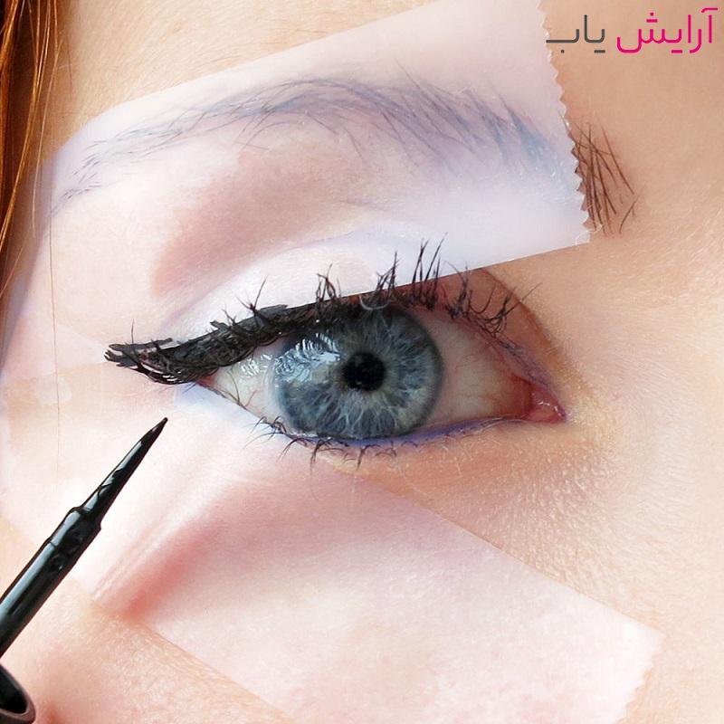 خط چشم کشیدن