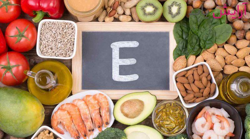 خواص ویتامین E برای مو